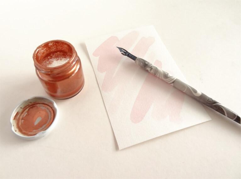DIY Meilensteinkarten Hochzeit Hochzeitsplanung DIY-Braut mit Kalligrafie