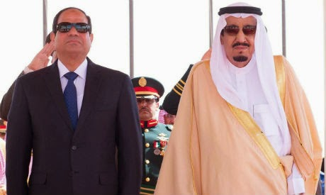 Sisi tells Saudi king: Gulf's security is a red line for Egypt