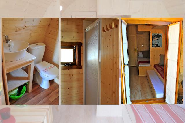 casa prefabbricata in legno Megapod con bagno