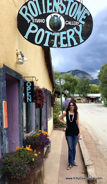 rottenstone pottery taos nm