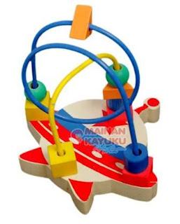Mainan TK PAUD Wire Roket