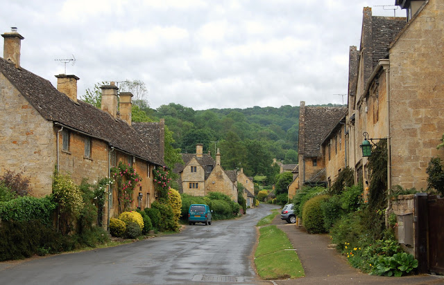 Stanton village houses, Cotswolds