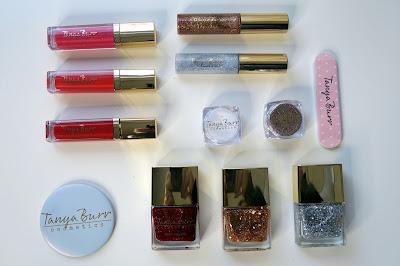 Tanya Burr Cosmetics Calendar contents