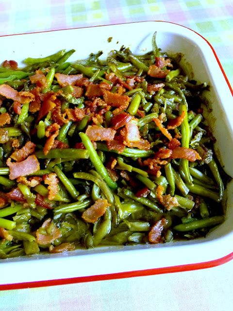 Magic Green Beans by Cooking with K - Weekend Potluck 453
