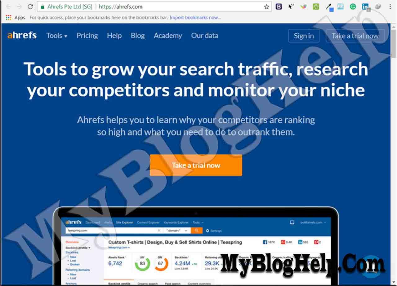 free seo tools mybloghelp blogging seo tips