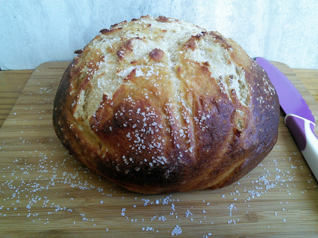 Soft Chewy Pretzel Bread