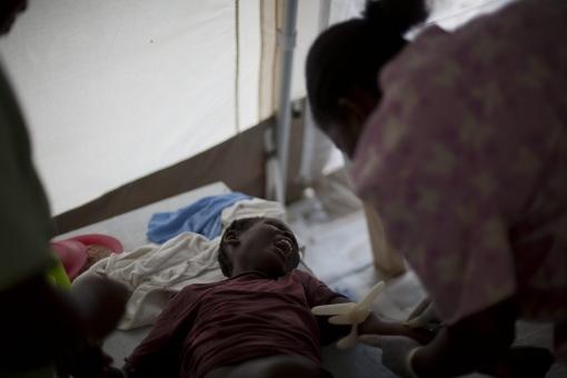 """ONU pide """"perdón"""" a Haití por contagiarles epidemia de cólera"""
