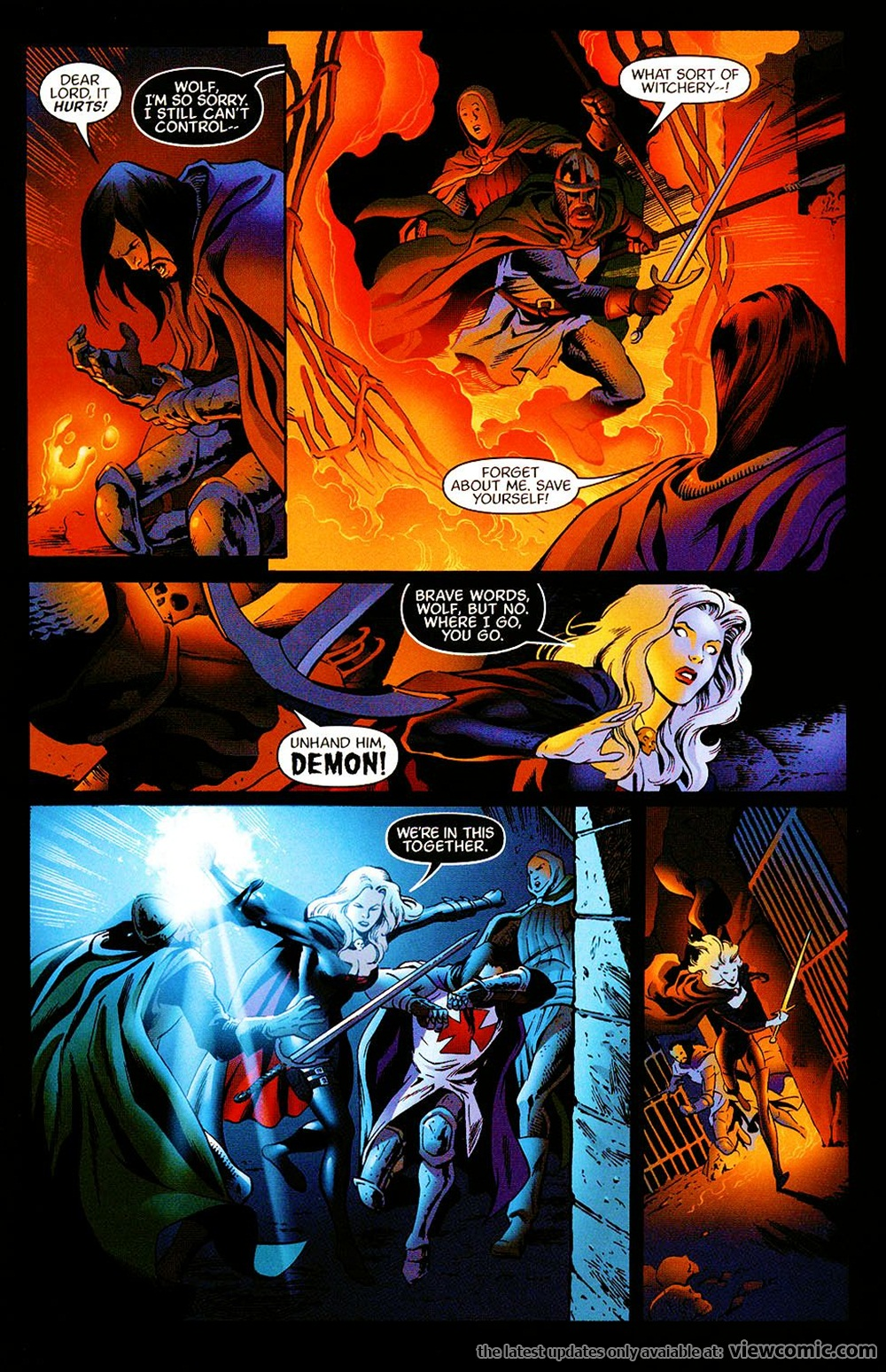 Lady Death v1 04 | Viewcomic reading comics online for free  Read