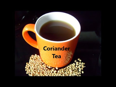Coriander Tea to relief from your sore throat