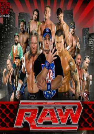WWE Monday Night Raw 9th April 2018 400MB HD-TV 480p