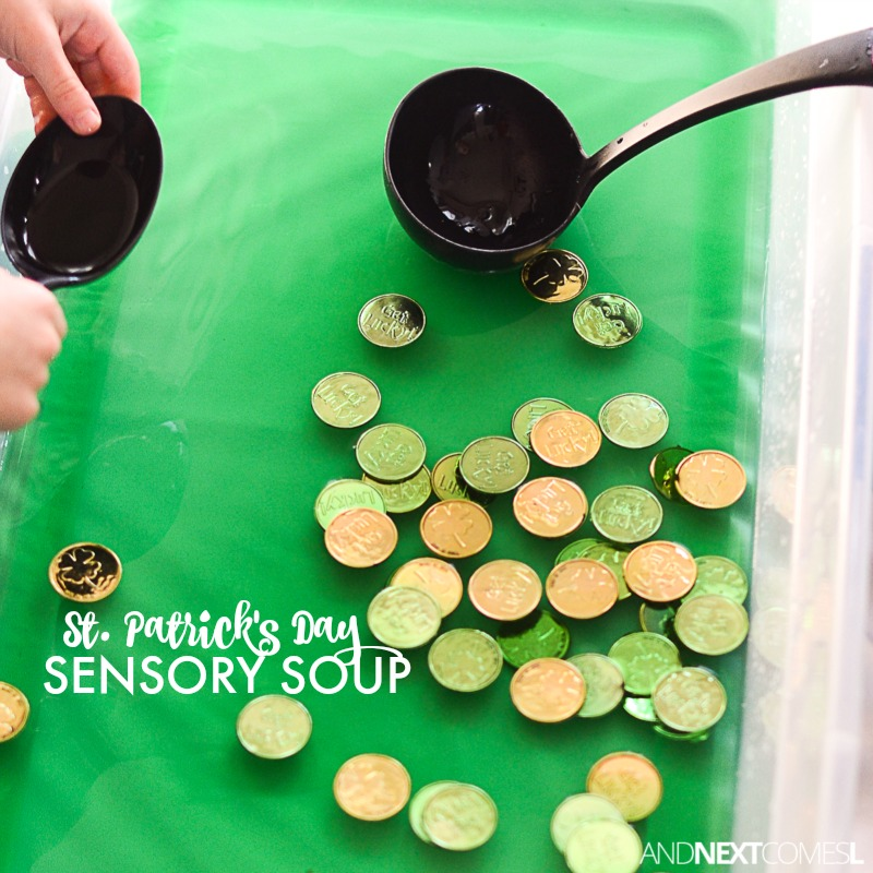 St Patricks Day Sensory Soup And Next Comes L