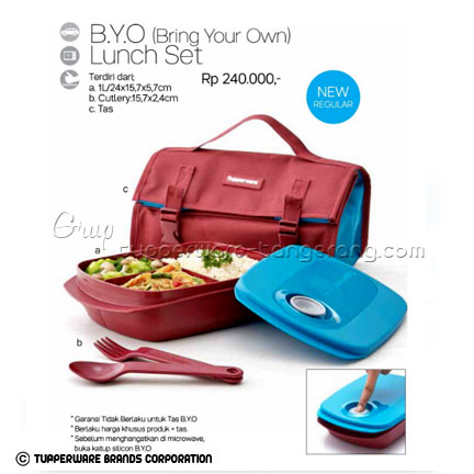 BYO (Bring Your Own) ~ Katalog Tupperware Promo Juni 2016