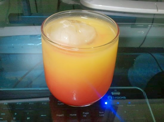 데킬라 선 라이즈: 어흑맨의 일기장: 데킬라 선라이즈(Tequila Sunrise