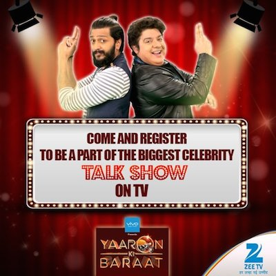 Yaaron Ki Baraat 09 Oct 2016  TV Show HDTV Download 2016 180MB