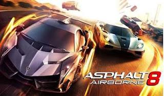 Asphalt 8 Airborne menyediakan 140 lebih jenis mobil balap resmi