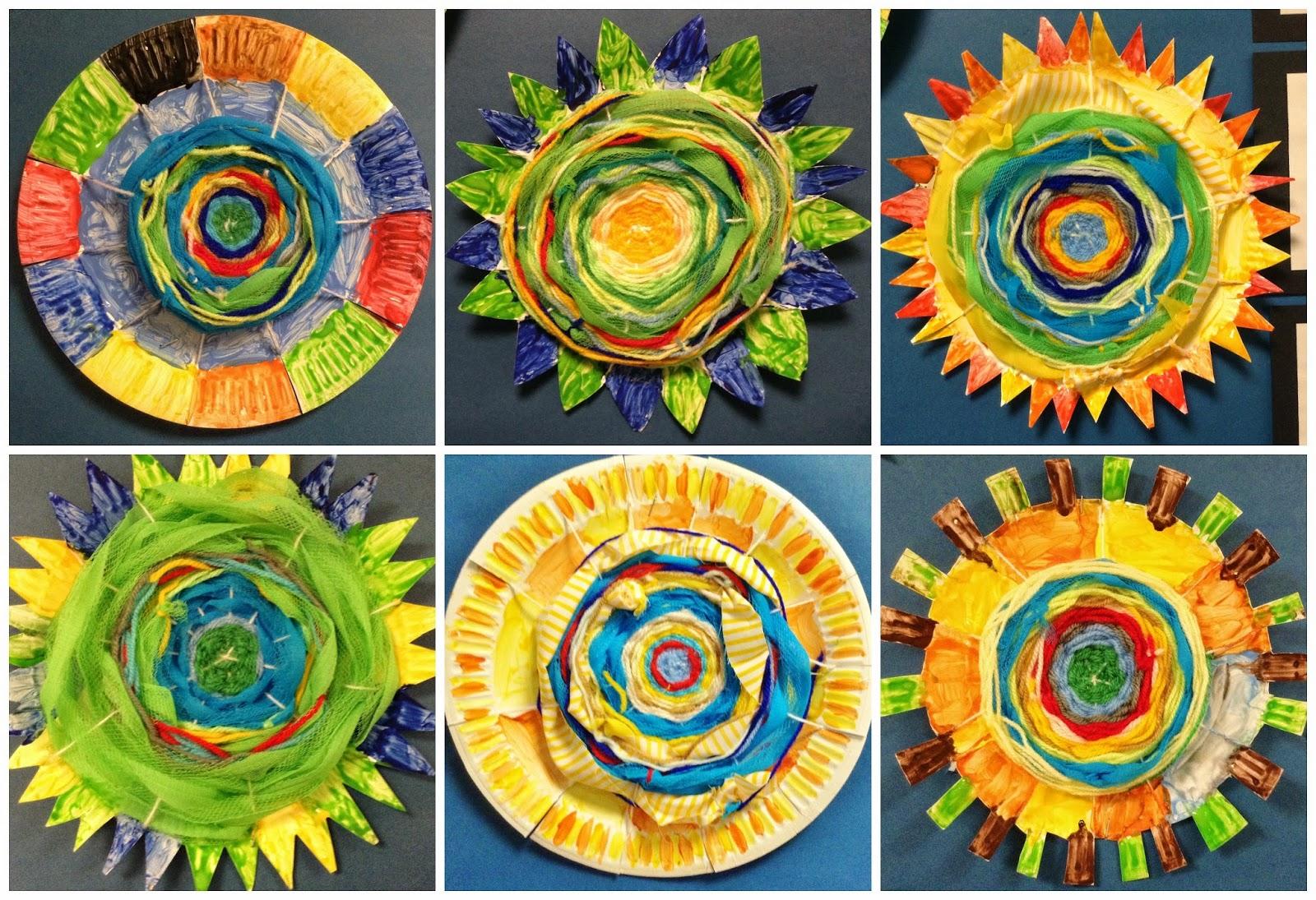Paper Plate Weaving Paper Plate Yarn Weave Turkey Craft Sc 1 St I