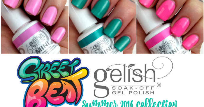... Gelish MINI Street Beat summer 2016 collection {review + swatches