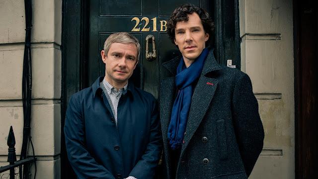 Resultado de imagem para Sherlock: Holmes e Watson estampam imagem oficial da 4ª temporada