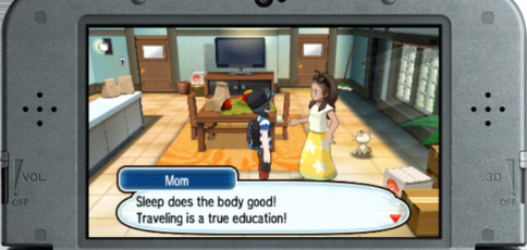 Pokémon Sun Moon Mom