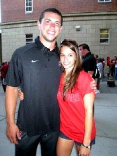 Andrew Luck and his girlfriend Nicole Pechanec