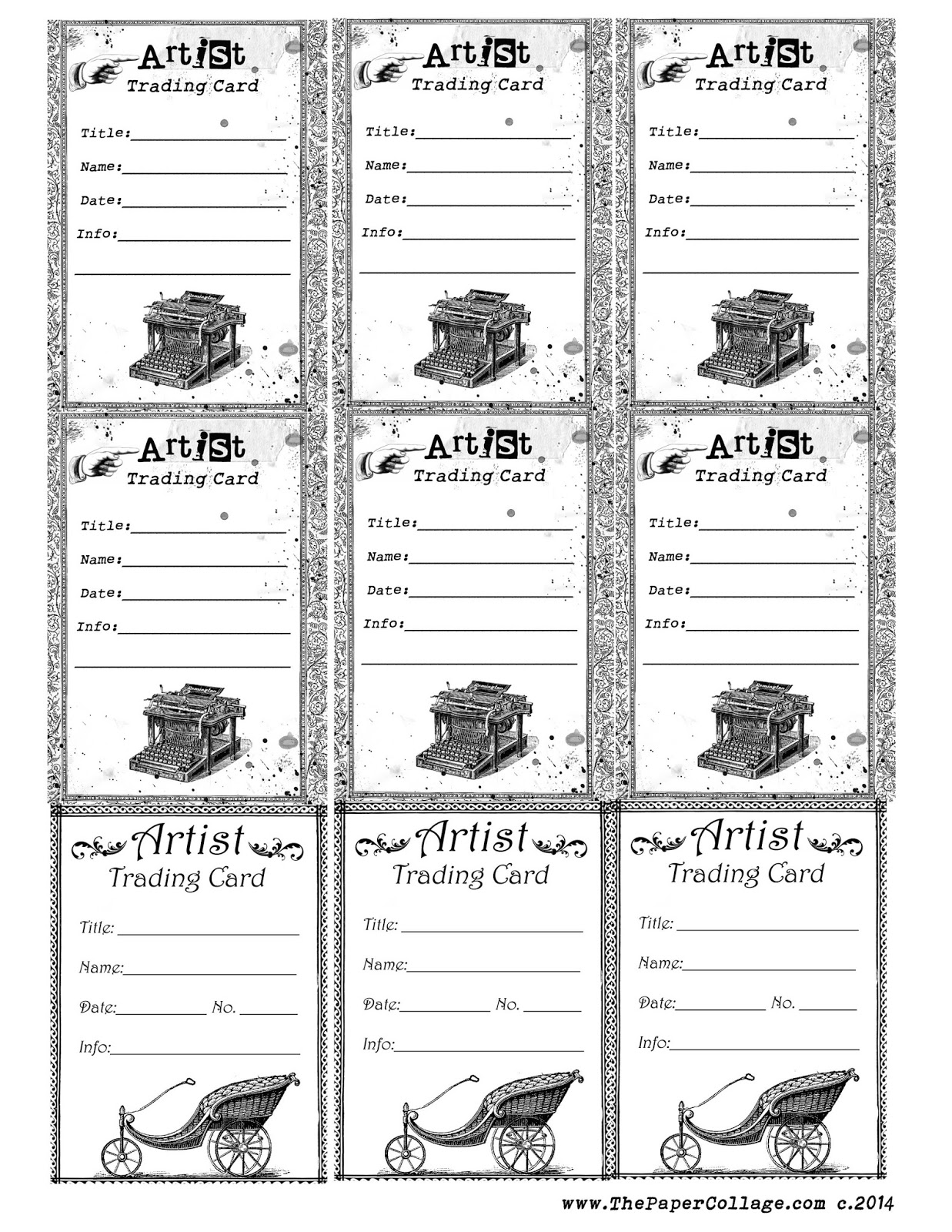 mailing label template