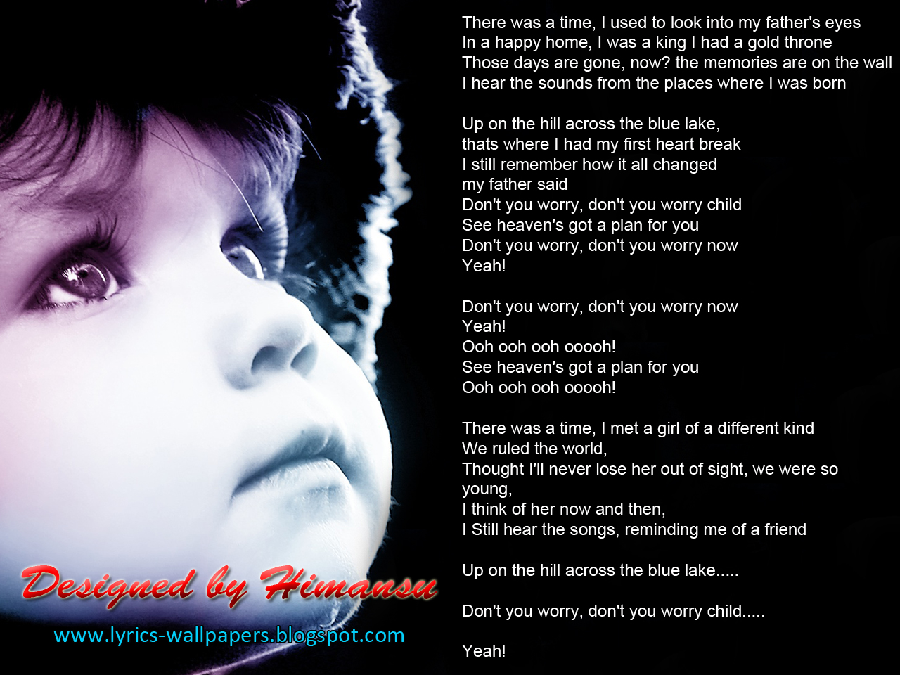 Lyrics Wallpapers Swedish House Mafia Don T You Worry Child Feat John Martin