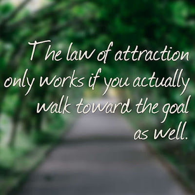 Many Motivational Quotes. Daily Thought: The actual law of attraction