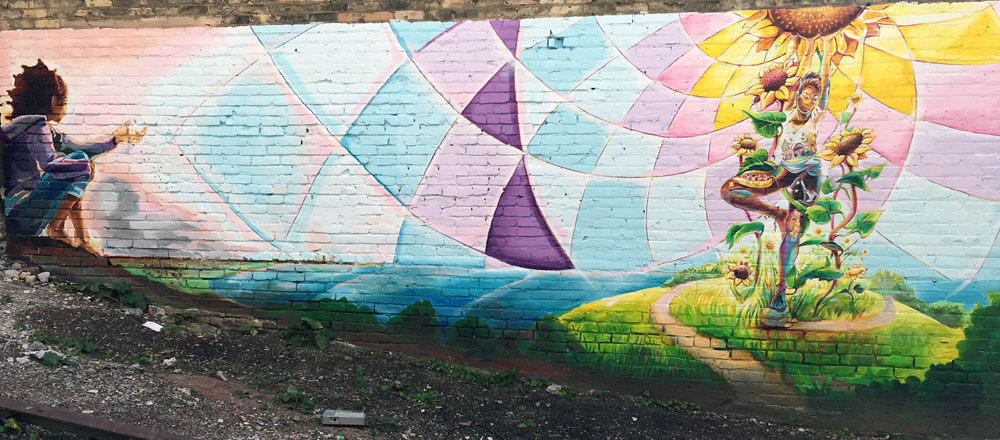 5805579ac STITCH MILWAUKEE COMMUNITY MURAL PROJECT UNVEILING | Cosmic ...