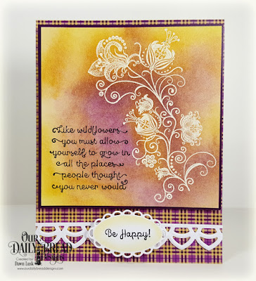 Our Daily Bread Designs Stamp Sest: Seeds of Today, Our Daily Bread Designs Paper Collection:Plum Pizzazz, Our Daily Bread Designs Custom Dies:Deco Border, Ornate Ovals