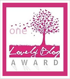 Premio One Lovely Blog Award