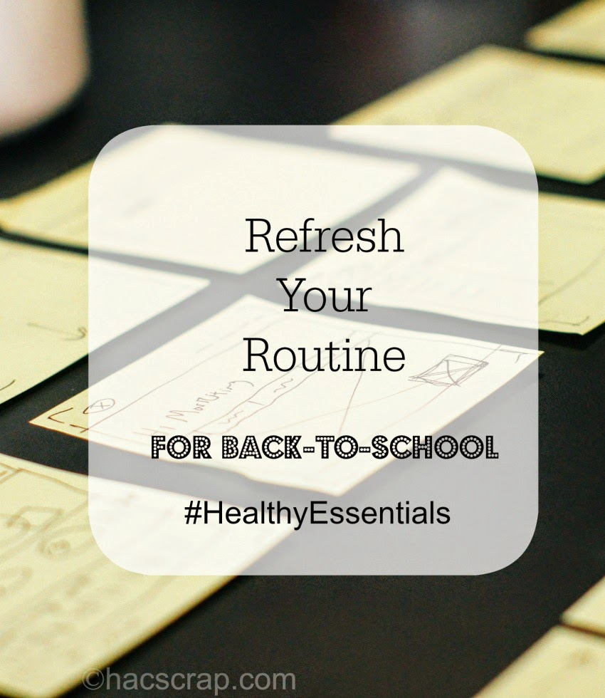 Desktop Planning - Refresh Your Routine