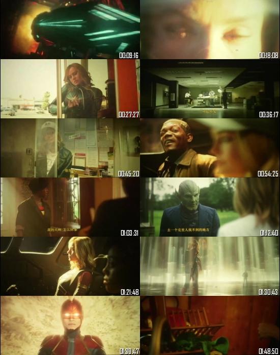 Captain Marvel 2019 HDTC 720p 480p Dual Audio Hindi English Full Movie Download