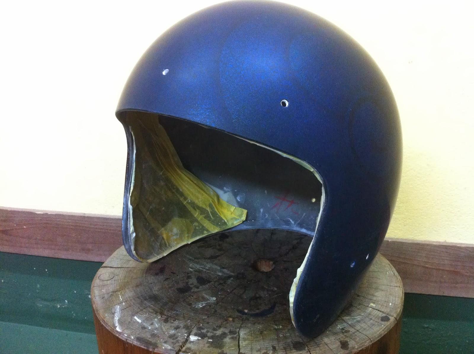 1604946226 - カスタムペイント工程 OGK ジェットヘルメット