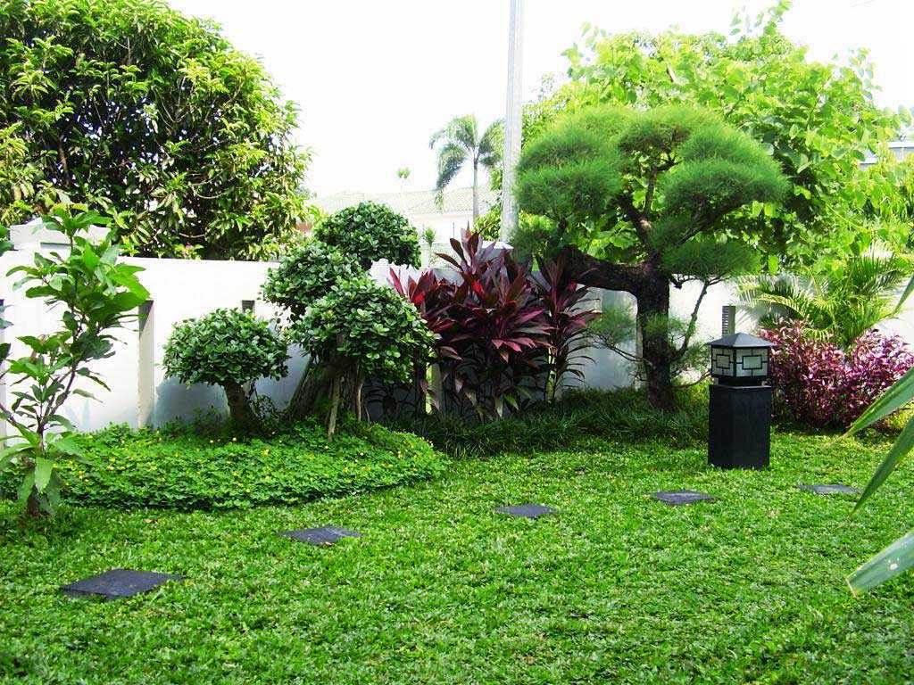 Desain Taman Indah Di Sudut Rumah
