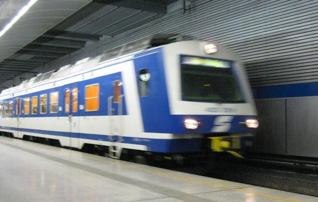 Wien - Zug zum Flughafen