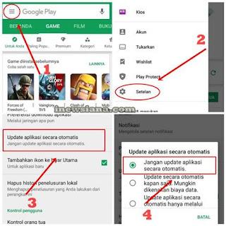 Cara Mudah Mematikan Auto Update Aplikasi Android