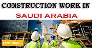 Image result for Construction vacancies saudi arabia