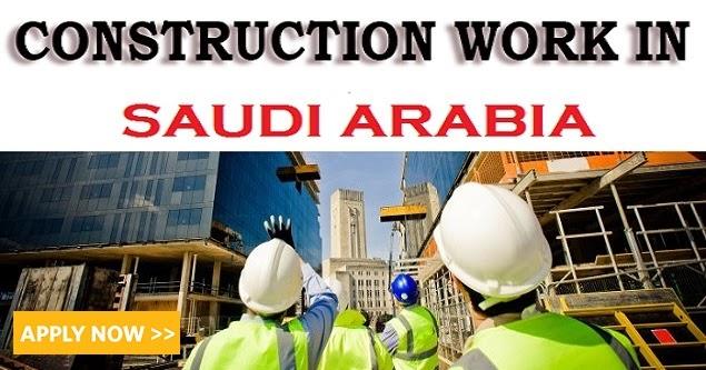 Multiple Construction Vacancies in Saudi Arabia   Find all