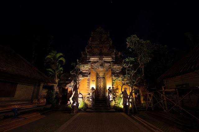 Ubud palace-Bali
