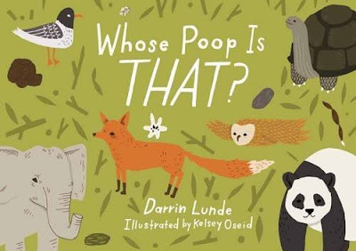Poop is a perennial favorite of little kids and Whose Poop Is That? will be too! Funny and informative, Whose Poop Is That? gives factoids about different animals' droppings along with accurate yet not gross illustrations. With a wide range of animals, kids are sure to have fun guessing whose poop that is!