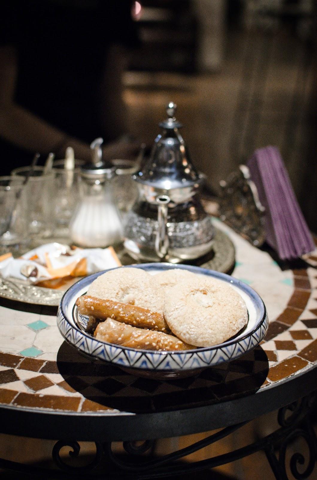 Thé à la menthe aux bains de l'opéra Spa Lyon