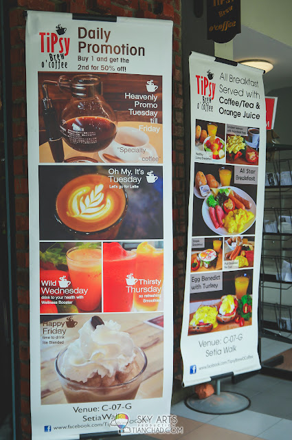 TiPsy Brew O'Coffee @ Puchong Setiawalk Daily Promotion