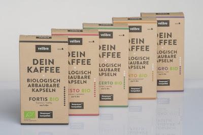 Kapsel Kaffee von velibre - biologisch abbaubar und 100% Bio