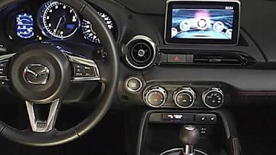 Mazda MX-5 instrumentations