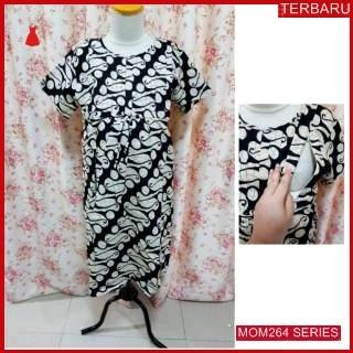 MOM264D22 Dress Hamil Menyusui Alira Batik Dresshamil Ibu Hamil