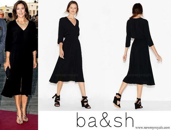 Princess Mary wore ba&sh dress
