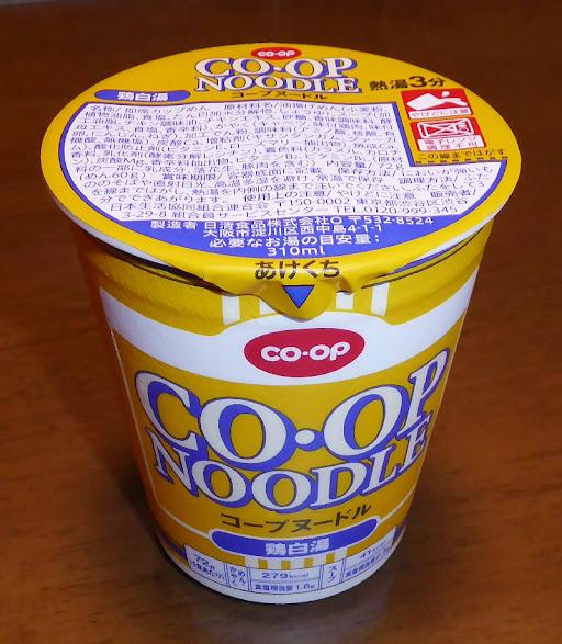 CO・OP NOODLES コープヌードル 鶏白湯
