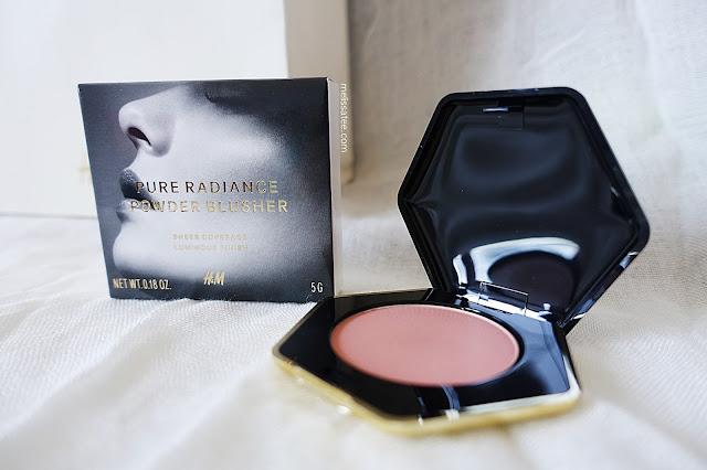 hm beauty, hm beauty department, hm beauty pure radiance powder blusher, hm beauty pure radiance powder blusher review