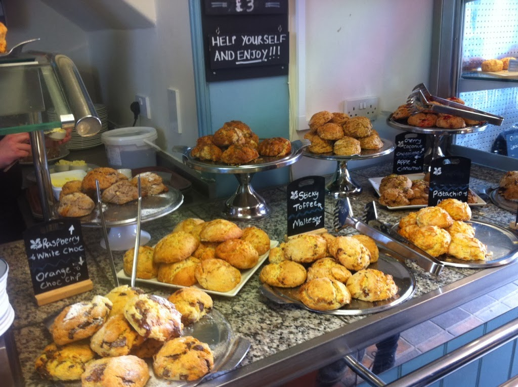 Sweet National Trust scones Dunwich