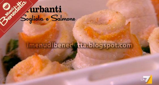 Turbanti di sogliola e salmone la ricetta di benedetta for Cucinare sogliola